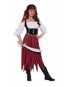 Pirate Maiden Teen Costume  sc 1 st  Pinterest & ladies pirate costume | Home u003e Ladies u003e Pirates u003e Wench Pirate ...