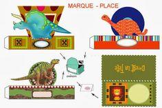 Kit de Dinosaurios para Imprimir Gratis.