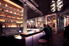addicted to rock//Vienna//shop design//bar//restaurant//drinks Restaurant Drinks, Bar Design Awards, Lokal, Austria, Addiction, Rock, Interior Design, Architecture, Store
