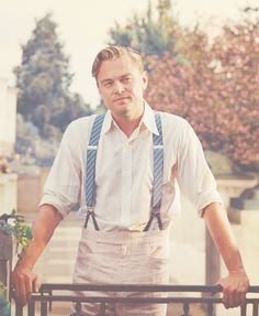 dicaprio // the great gatsby... holy handsome. best outfit for a man, EVER.