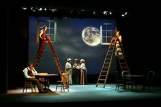 Our Town. Leicester Drama Society. Scenic design by James Watson. 2011