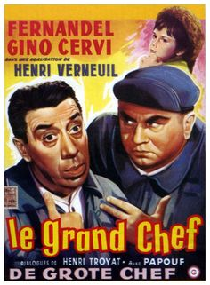 Le Grand Chef est un film de production franco- italienne, réalisé par Henri Verneuil en 1959. Deux braves employés d'une station service deviennent des kidnappeurs d'occasion. Avec la rançon demandée, ils s'installeront à leur compte. Mais le jeune fils de milliardaire qu'ils ont enlevé les tourmente à un tel point et leur cause tant d'ennuis que, pour s'en débarrasser, ils renoncent à la rançon et finissent même par donner leurs propres économies.