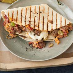 Quesadillas mit Hackfleisch