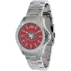 Men's San Francisco 49ers Jack Mason Brand Color Sport Bracelet Watch, Your Price: $125.00 --- Keep your San Francisco 49ers spirit close with this Jack Mason Brand Color Sport Bracelet watch! This outstanding, water-resistant timepiece features the colors and graphics of your San Francisco 49ers on its face and a brushed stainless steel bracelet accented with a high polish edge detail.