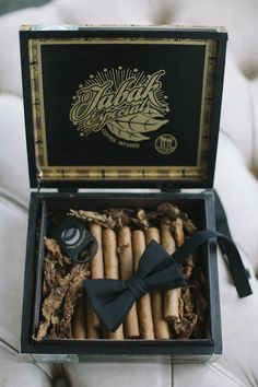 cigars for the groomsmen Photography: Leslie Hollingsworth Photography - www.leslie-hollingsworth.com  Read More: http://www.stylemepretty.com/2014/05/28/classic-blush-colored-wedding-in-florida/