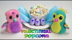 How to make Hatchimal Popcorn. Full recipe. Great for a Hatchimals Birthday party!