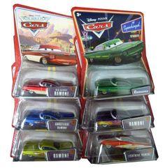 Disney Pixar Cars - Ramone Die Cast Car (Full Set of 7) [Toy] [Toy] [Toy] [Toy] by Mattel. $49.99