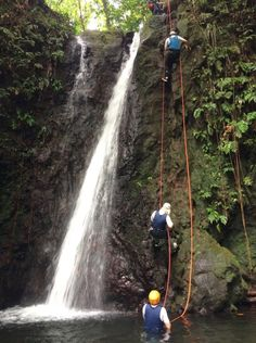 Expérience de canyoning en Guadeloupe : pas facile !