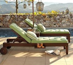 DIY Outdoor chaise