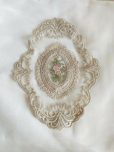 Lovely Khaki Cotton Venice Lace Applique Oval Pink Roses Embroidered Patch For Bedding Costume Dress Clothes Tablecloth Curtains 1 Pcs Lace Ribbon, Lace Fabric, Lace Applique, Embroidered Flowers, Tablecloth Curtains, Wedding Dress Accessories, Chiffon Flowers, Antique Lace, Costume Dress
