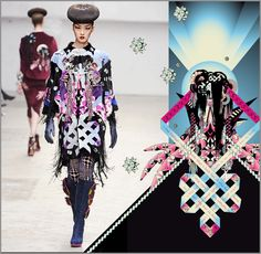 Manish Arora Ready To Wear Fall/Winter 2011/2012 by Amrei Hofstätter, via Behance