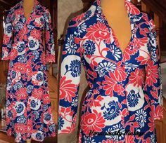 Vintage 60's Couture Americana Psychedelic by VoraciouslyVintage