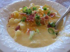 Baked Potato Soup - Women Living Well