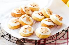 Using ricotta in these biscuits gives them a lovely light, almost cake-like texture.