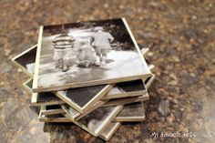 DIY Photo Coasters - My Favorite Finds