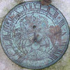 Sundial. Rosary Cemetery, Norwich, Norfolk, England, UK. Photo by Leo Reynolds, 2004.