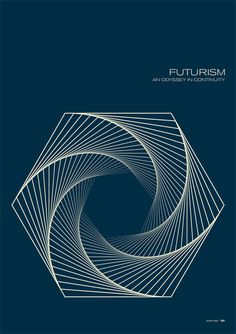 Futurism - Hexiral by Simon C Page ⊚ pinned by www.megwise.it #megwise #visualobsession
