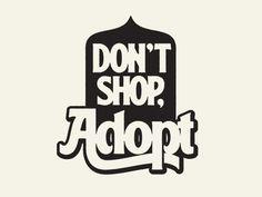 Don't Shop by Simon Walker #Design Popular #Dribbble #shots