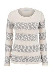 striped sweater with sequins - maurices.com