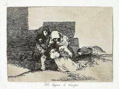 Francisco José de Goya y Lucientes 2 `Los desastres de la guerra´ nº52. Es una imagen creada mediante la disciplina del grabado con adición porque no modela la superficie, sino que añade pigmento. Aguafuerte.