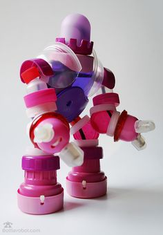 bottle robot!