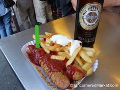 Currywurst at Curry 36 - Berlin, Germany
