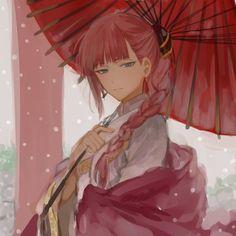 Is this kagura gintama? Manga Anime, Manga Girl, Anime Girls, Elsword, Kamui Gintama, Comedy Anime, Okikagu, Another Anime, Anime Kunst