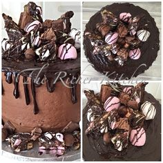 Rocky Road Chocolate Drip Cake from The Richer Kitchen Cakes' Facebook Page