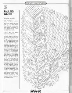 Home Decor Crochet Patterns Part 14 - Beautiful Crochet Patterns and Knitting Patterns Crochet Tablecloth Pattern, Crochet Snowflake Pattern, Crochet Doily Diagram, Crochet Doily Patterns, Crochet Snowflakes, Granny Square Crochet Pattern, Lace Patterns, Thread Crochet, Filet Crochet