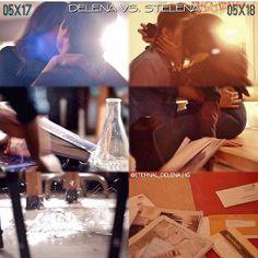 "@vamp_diari's photo: ""Delena vs Stelena.... • • Delena was hotter...... Cr: @eternal_delena • • #tvd #thevampirediaries #opt #ian #iansomerhalder #nian #nina #ninadobrev #damon #delena #elena #endgame #epiclove #love #perfect #cool #cute #hot #somerholic #dobrevic #paul #paulwesley #stefan #stelena #defan #salvatore"""