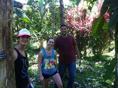 Hillel School doing community service in Costa Rica: Goal is to plant 420 trees!