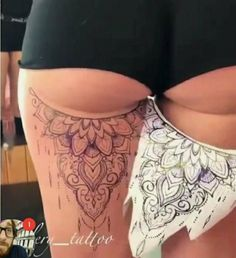 Girly Tattoos, Badass Tattoos, Pretty Tattoos, Body Art Tattoos, Hand Tattoos, Tatoos, Tattoo Sleeve Designs, Sleeve Tattoos, Tattoo Bein Frau