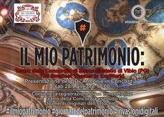 28/09 ore 17:00 #ilmioPatrimonio #GiornatedelPatrimonio #invasionidigitali #ArmonieInConcordia