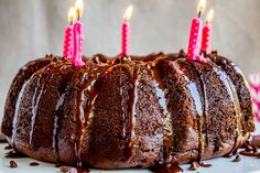 Death By Chocolate Bundt Cake (And The Food Charlatan's 5th Birthday!) - The Food Charlatan