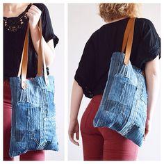 Make order available #etsy #etsyshop #denimfabric #lovedenim #leather #sitched #denimfashion #jeans #levis #upcycled #recycled #denim #pinterest #madebydeaf #handmade #London #madebritish #british  #fashion #bag #handbag #shoulderbag #totebag #sashiko #sashikobag