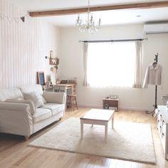 yuchiさんの、部屋全体,ソファ,ラグ,ナチュラルインテリア,のお部屋写真