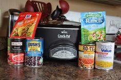 Quick and Easy Crockpot Taco Soup