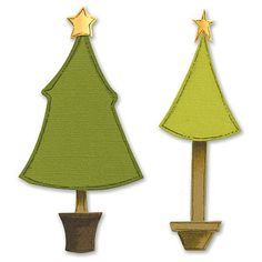 Sizzix Bigz Die - Trees, Christmas $19.99