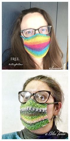 10 Knit Face Mask Free Knitting Patterns and Paid - Knitting Pattern Crochet Mask, Crochet Faces, Knit Or Crochet, Free Crochet, Knitting Patterns Free, Free Knitting, Crochet Patterns, Sewing Patterns, Ride Du Front