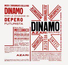 Fortunato Depero - Depero Futurista - 1927