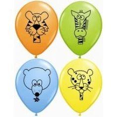 Jungle Animals Balloons