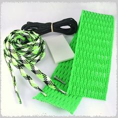 Stick Doctor Lacrosse Mesh Stringing Kit - The Riddler (Neon Green/Black/White) by Stick Doctor. $15.58. This Stick Doctor mesh kit comes with neon green mesh, plenty of black strings, neon green and black argyle shooters (x3), screw, ball stop, and Stick Doctor sticker.