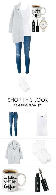 """""""Untitled #384"""" by dutchfashionlover ❤ liked on Polyvore featuring Frame, Vince, MANGO, Hue, Bobbi Brown Cosmetics, Skagen and chill"""