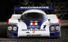 wolf   Porsche 956 1982 Silverstone 6 Hours Porsche 956 #001