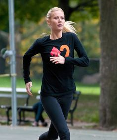Gwynneth Paltrow - she is so perfect - she really annoys me ! Please eat some chocolate and be normal !