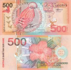 Suriname Gulden banknotes for sale. Dealer of quality collectible world banknotes, fun notes and banknote accessories serving collectors around the world. Over 5000 world banknotes for sale listed with scans and images online. Singapore Dollar, Money Notes, Old Money, Rare Coins, Vintage World Maps, Banknote, Bank Account, Wealth, Collections