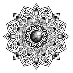 Work's going well 🕉✍ What do you think I can improve? Mandala Elephant Tattoo, Mandala Hand Tattoos, Mandala Tattoo Design, Henna Mandala, Mandala Drawing, Mandala Painting, Mandala Art, Tattoo Designs, Owl Tattoo Drawings