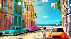 Artes de Joey Chou para o filme VIVO, da Sony Animation | THECAB - The Concept Art Blog 1 Peter, 1 John, Joey Chou, Studios, Sony, Visual Development, Art Blog, Great Artists, Concept Art