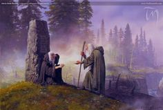 Hurin Finds Morwen - Ted Nasmith