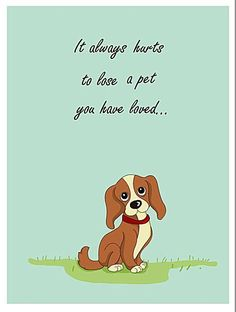 7 Free, Printable Sympathy Cards for Any Loss: Sympathy Card for a Pet
